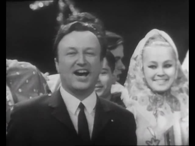 1968 Голубой огонек, Новогодняя ночь с 1968-го на 1969 год. Лучшее качество.