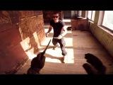 Ножевой бой на страйкболе [тренировка 4] Knife fight Airsoft War Games