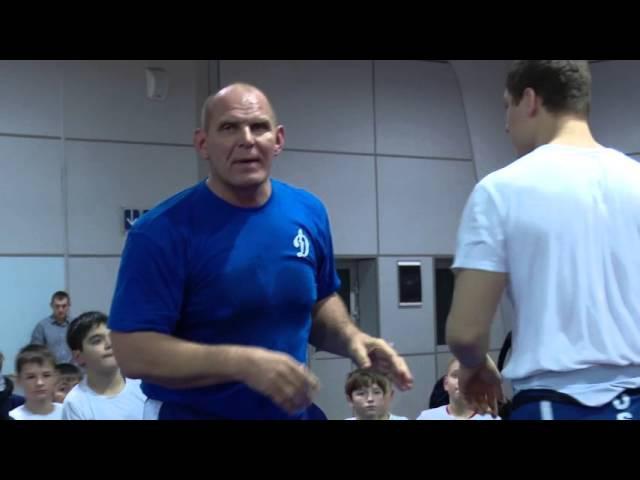 Полная видеозапись мастер-класса Александра Карелина в губернском центре спорта Кузбасс