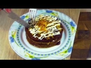 Печеночный Блинный Торт. Закусочный Тортик. Готовим простые рецепты от wowfood.club