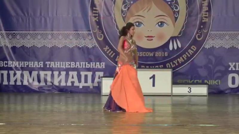 Tatiana Krichevskaya Pop Song World Trophy WDO 2016-DANCE QUEEN by Olesya Pisare