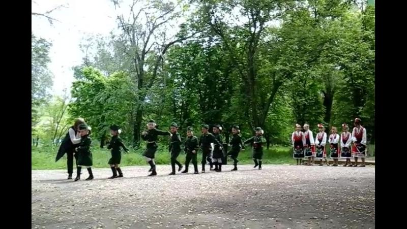 Военный танец малышей Катюша