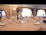 Свадьба в ресторане Лазурный берег от агентства Идеальное торжество Бэкстеи