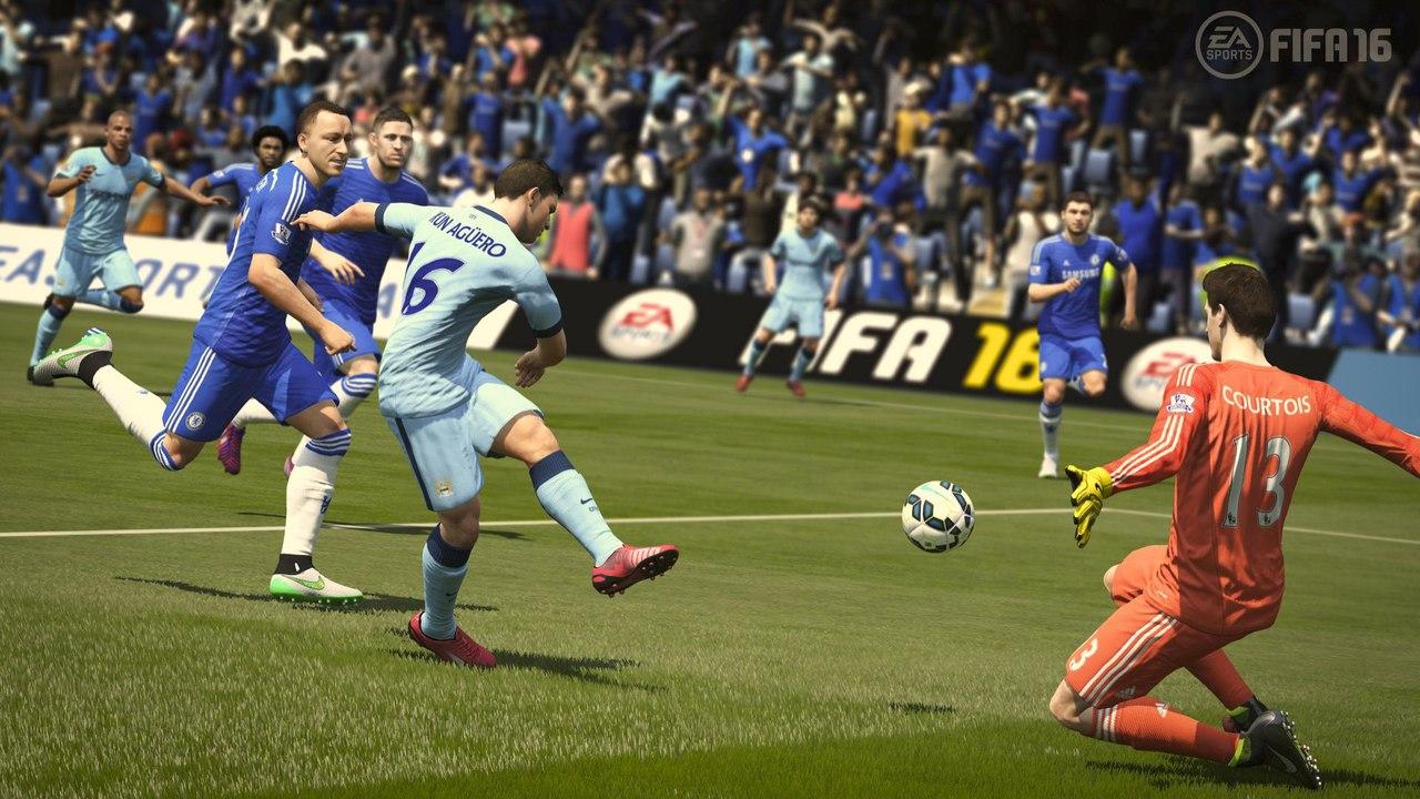 Скриншот игры FIFA-16