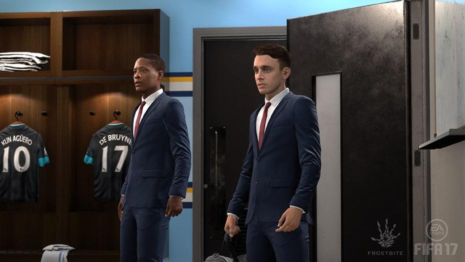Скриншот игры FIFA 17