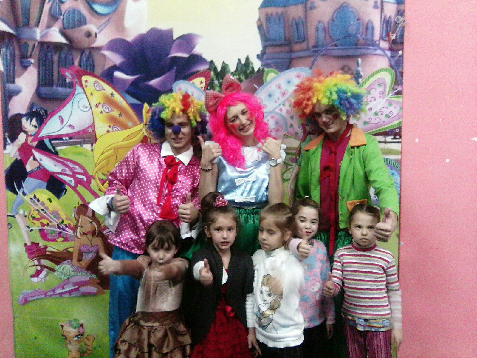 клоуны на детский праздник в запорожье