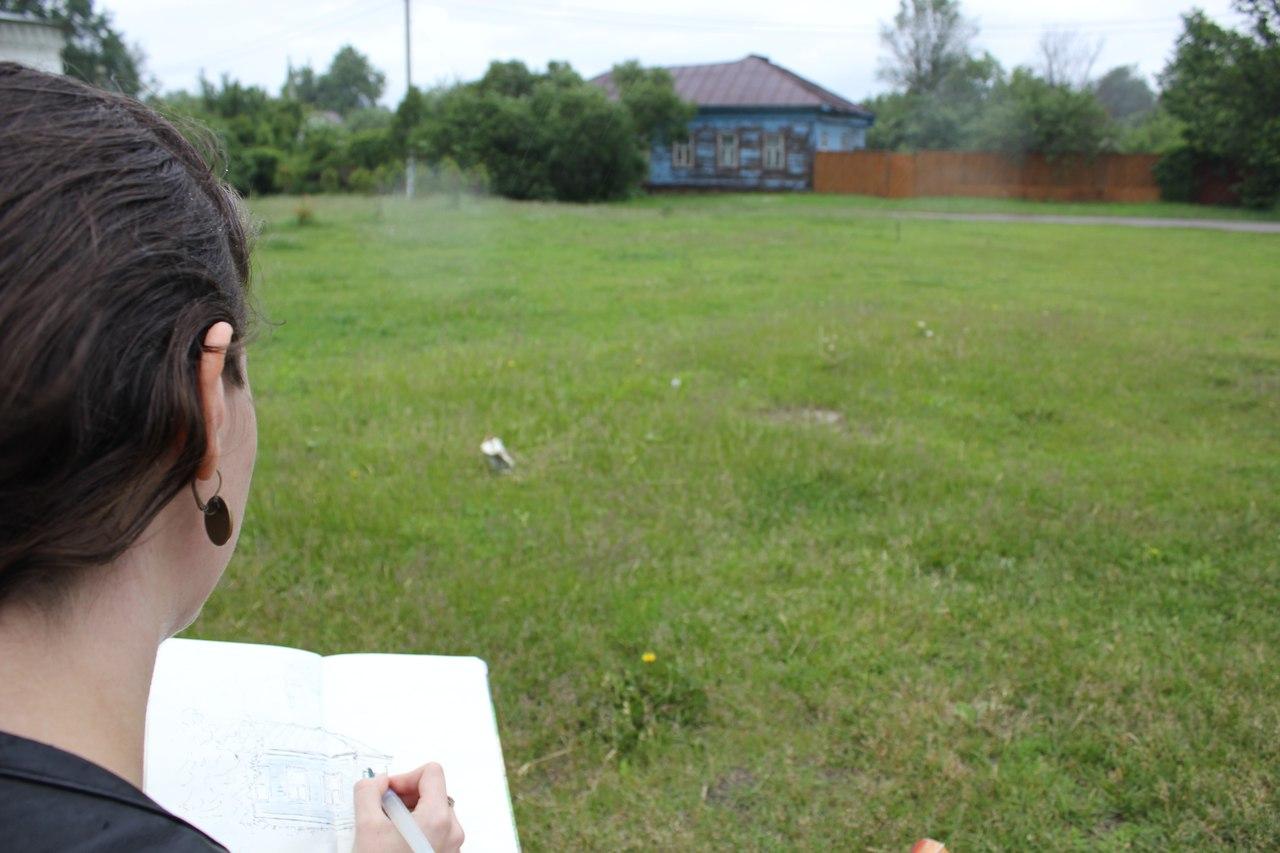 Рисуем на Соборной горе