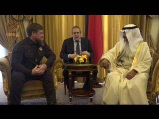 Встреча с премьер-министром Бахрейна