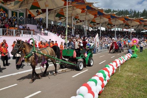 Стала известна программа празднования Сабантуя в Альметьевске