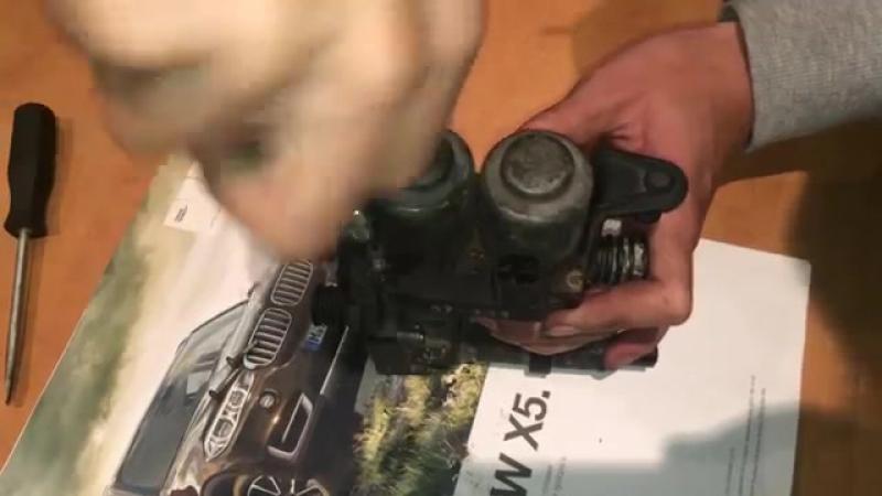 Ремонт клапанов печки БМВ е39, е38, е53, е34, е32, е31