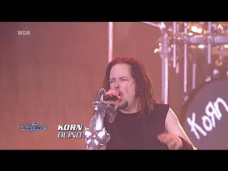 Korn ft. Joey Jordison (Slipknot) - Blind (Live at Rock am Ring 2007)