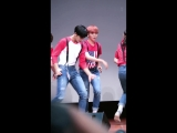 [160716] Seventeen - Very Nice (Mingyu focus) @ Nuri Dream Square Business Tower Fansign