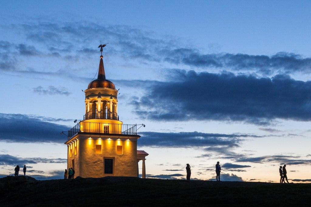 В летний период Лисья гора - центр притяжения тагильчан и гостей города