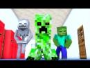 НЯШКА КРИПЕР - Майнкрафт Клип - Minecraft Parody of PSYs Daddy