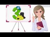 Урок 52 Математика 1 клас. Таблиці додавання і віднімання числа 3. Частина 1