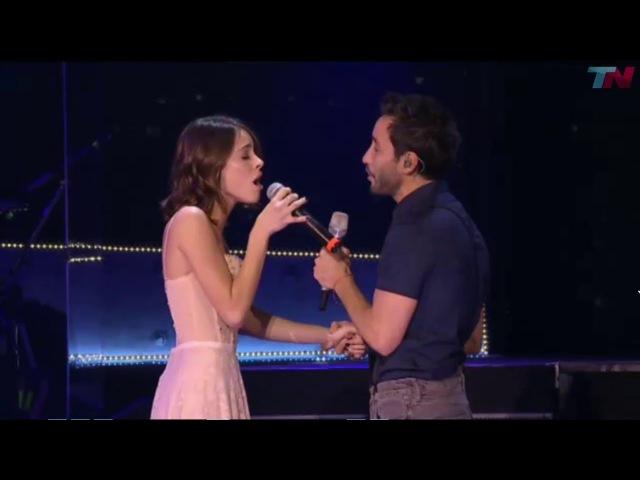 Tu dolor - Luciano Pereyra y Tini Stoessel (ex gran amor de Peter Lanzani) en vivo en el Luna Park