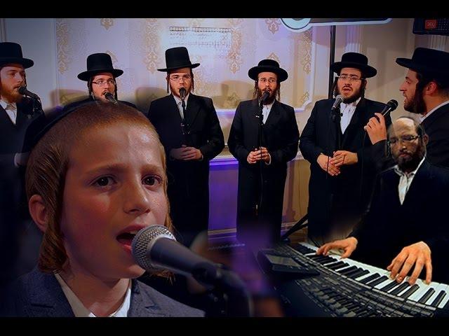 Adir Bamarom Meshorerim Choir Child Soloist Avrum Chaim Green אדיר במרום משוררים ילד הפלא