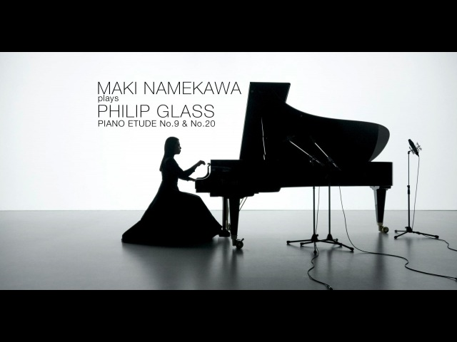 AMAZING Maki Namekawa plays Philip Glass Piano Etude No 9 No 20 HD (dir. Andreas H. Bitesnich)