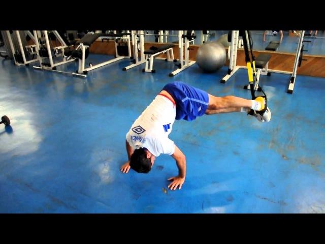 Gerardo Torrado Isreal Castro TRX Training