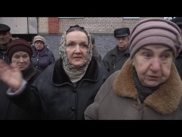 Сотні мазыран пратэстуюць супраць будаўніцтва дома ў іх двары