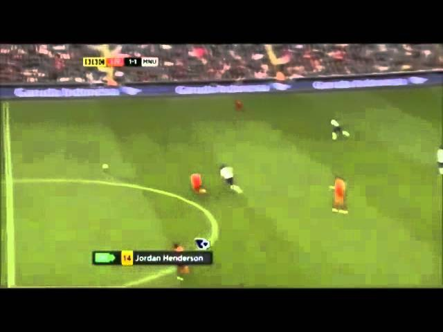 Скорость Антонио Валенсии, со своей половины поля на чужую, за 5 секунд.
