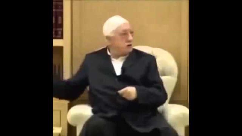 Yumruğu Ağzına Vurduğum Gibi Kırarım - Fethullah Gülen