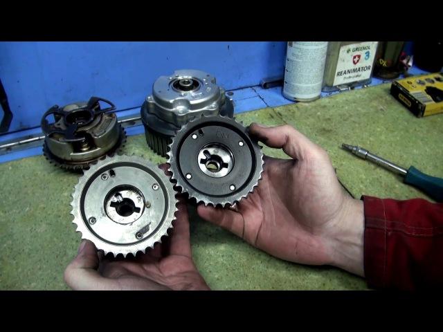 Система VVTI на двигателе 1NZ-FE
