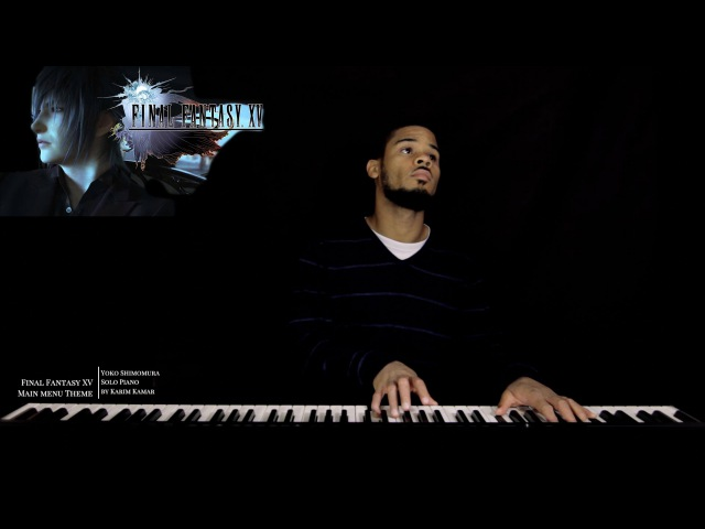 Final Fantasy XV OST Main Menu Theme - Somnus - Solo Piano