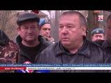 Генерал-полковник Владимир Шаманов в Крыму, 06.01.2017