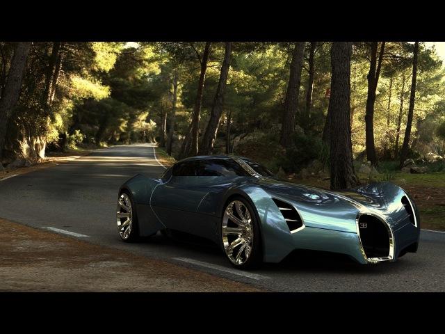 2025 Bugatti Aerolithe Concept Design by Douglas Hogg