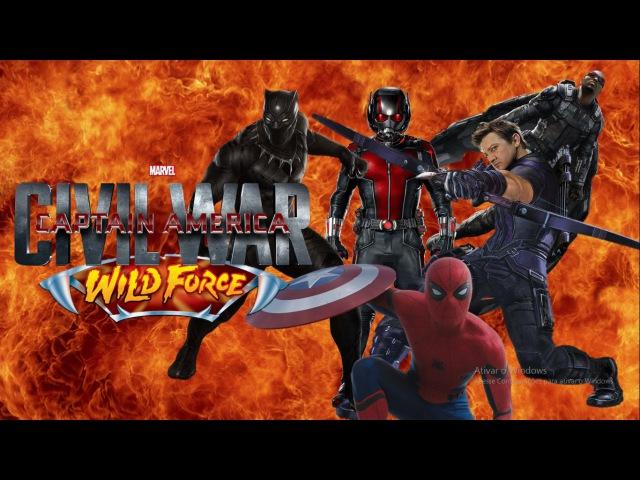 Civil War - Power Rangers: Wild Force Style
