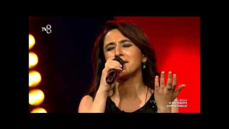 Leyla Rehimova ve Yusuf Yüksek çapraz Düellosu | O Ses Türkiye