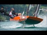 Quantensprung das foilende Kielboot - Foiling with Quant 23 - Sailing