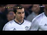 Henrikh Mkhitaryan Goal - Saint-Etienne vs Manchester United 0-1 - 22022017 HD