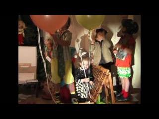 домашний спекаткаль Незнайка и его друзья на воздушном шаре