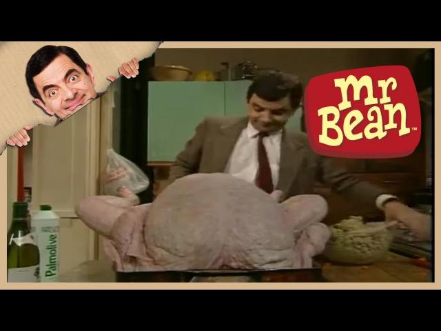 The Christmas Turkey   Mr. Bean Official