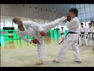 Техника Кумитэ - Seiji Nishimura - Wado-Ryu Kumite Technique Seminar - part8
