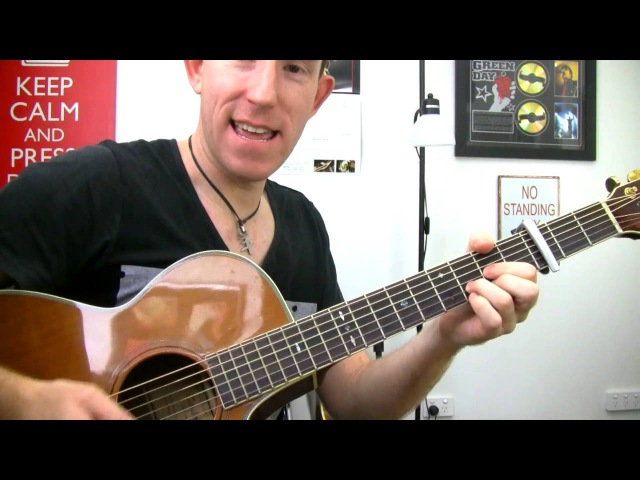 Skyfall - Adele - Guitar Lesson - How To Play James Bond Theme Acoustic Tutorial pt2