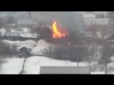Пожар в садоводстве Трансмаш 09.03.17. (Barnaul22)