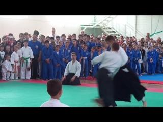 Краснодарская Школа Айкидо показательные выступления 7 мая 2016 г.