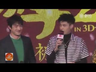 170116 Kris Wu at JTTW2 Press Con in Beijing