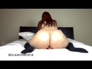 Bella monroe18 dildo ride suck hd big ass booty butts bbw pawg curvy chubby plump mature milf