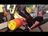 Жим ногами 500 кг на 8 повторов