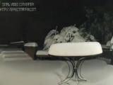Съемка снегопада 24 часа