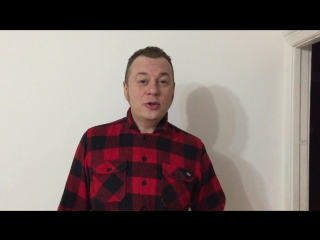 Видеоприглашение на концерт группы ГРОМЫКА от Дмитрия