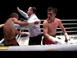 Видео нокаута Батыра Джукембаева в бою за первый титул в профи