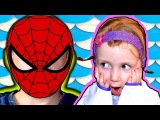 Bad Baby ПЛОХОЙ ЧЕЛОВЕК ПАУК СЕСТРА ПЛАЧЕТ  BAD SPIDERMAN MAKES BABY SISTER CRY MOMMY CATCHES HIM