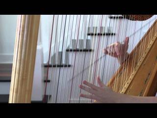 Hannibal (NBC) Medley on the Harp - Main Theme, Love Crime, Goldberg Variations