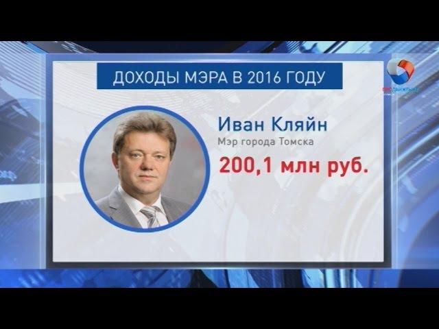 Доходы Ивана Кляйна выросли почти в два раза