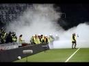 Big fight between Djurgården and Hammarby fans 19.04.2016